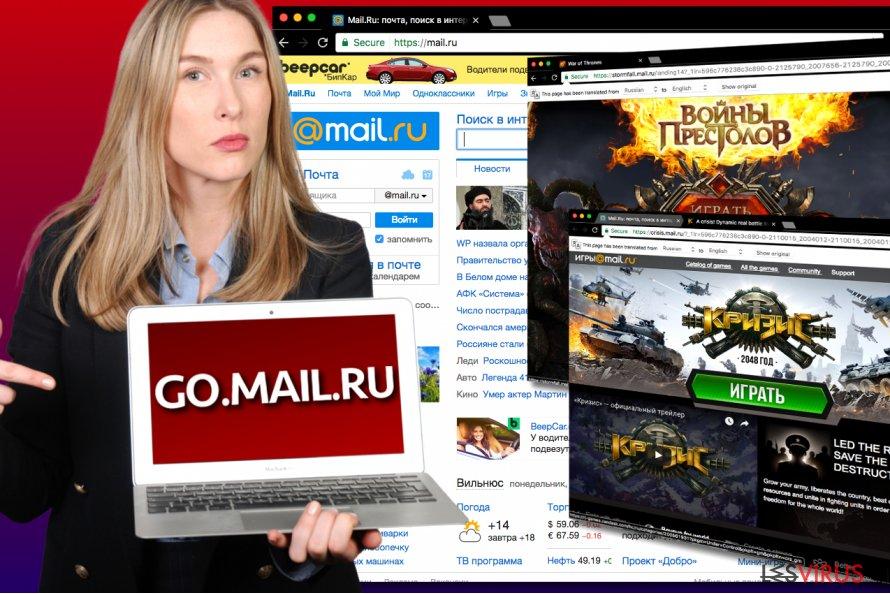 Le virus Go.mail.ru