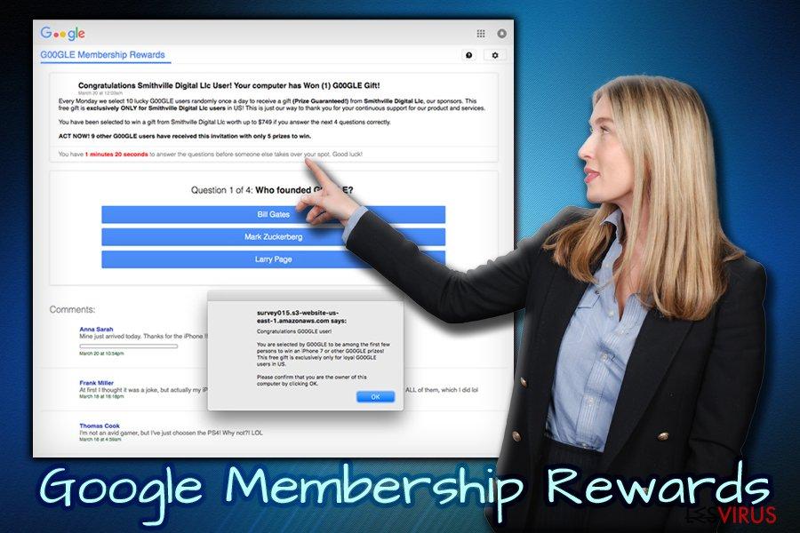 Google Membership Reward