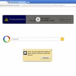 Les redirections de Google instantané