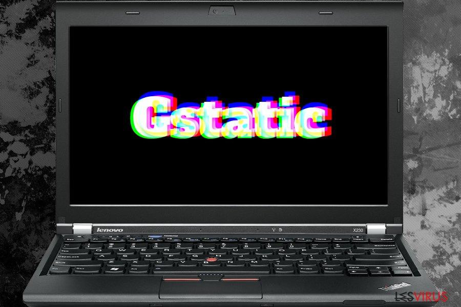 le virus Gstatic