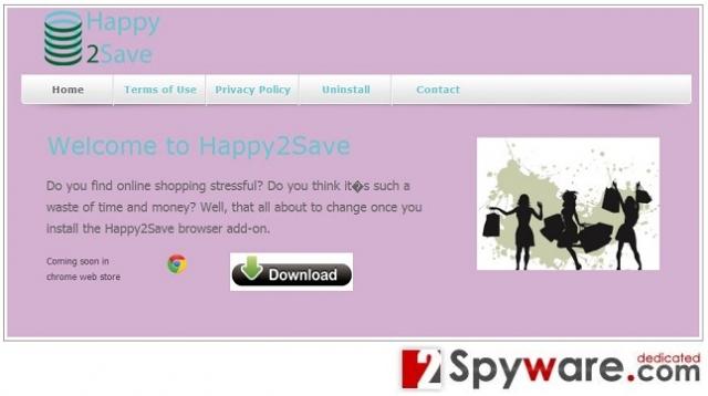 Happy2Save instantané