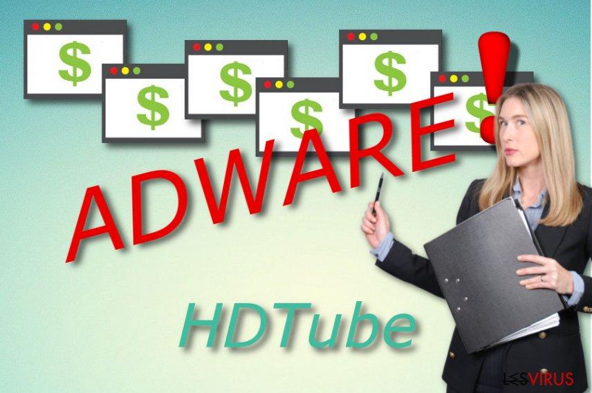 l'adware HDTube