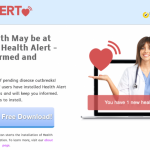 Annonces par Health Alert instantané