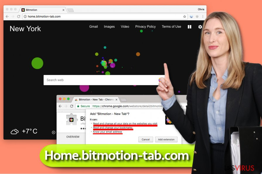 Le virus Home.bitmotion-tab.com