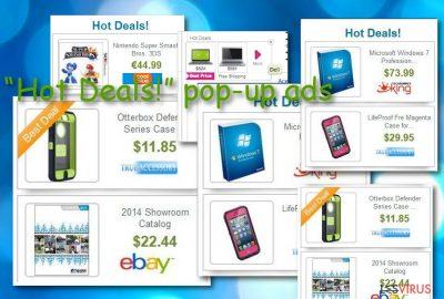 """""""Hot Deals!"""" pop-up ads"""