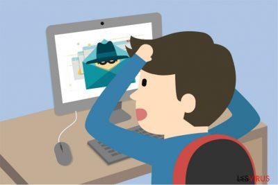 Illustration du virus Idle Buddy