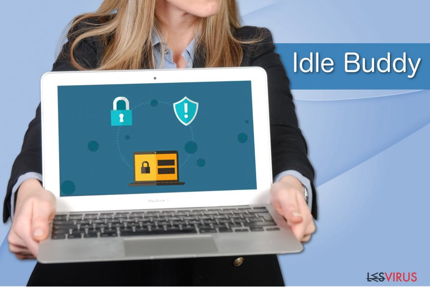 Un échantillon du virus Idle Buddy