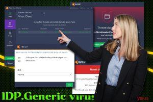 Le Virus IDP.Generic