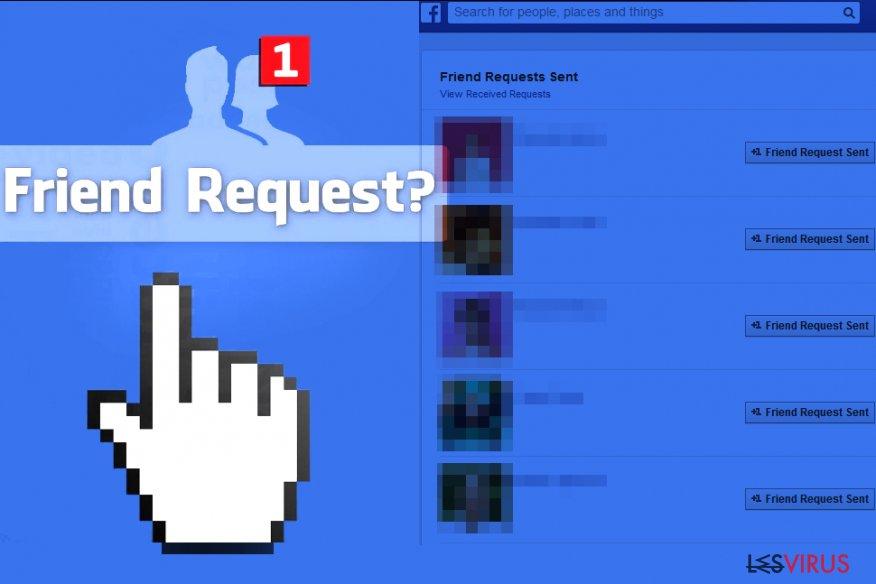 Le virus Facebook Friend Request