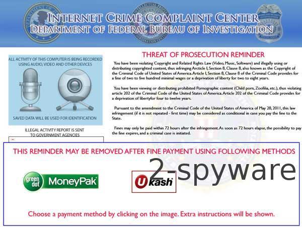 Internet Crime Complaint Center instantané