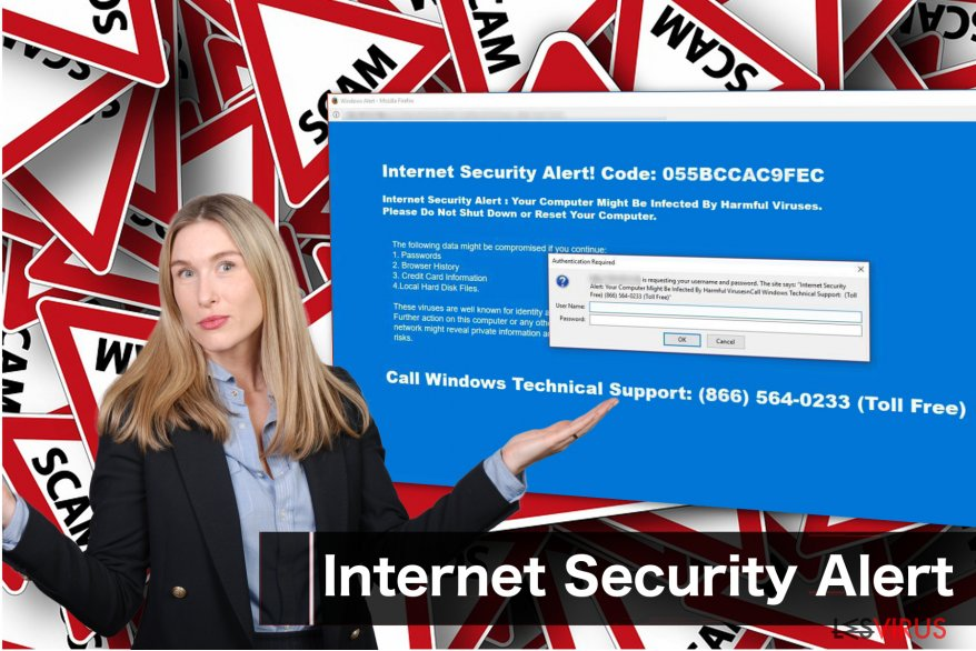 "Le virus ""Internet Security Alert"""