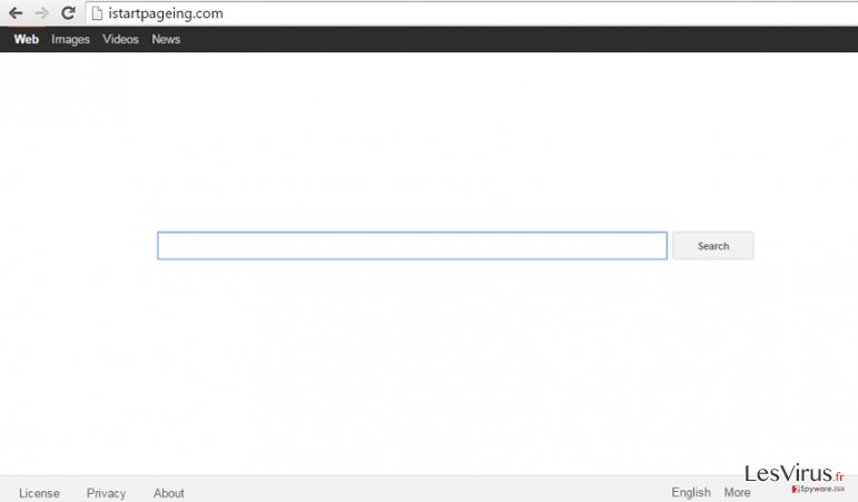 Istartpageing.com hijack instantané