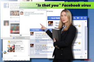 Le Virus Facebook « Is that you »