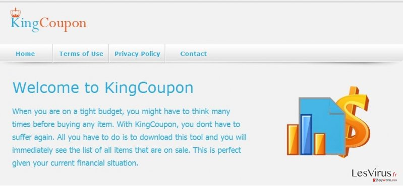KingCoupon virus instantané