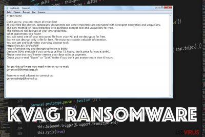 le ransomware Kvag