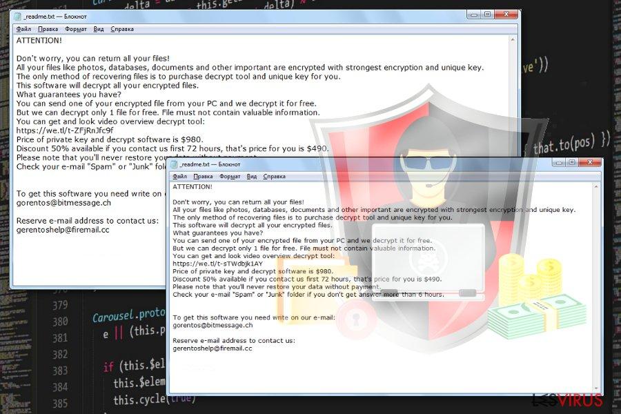 le virus fichiers Kvag