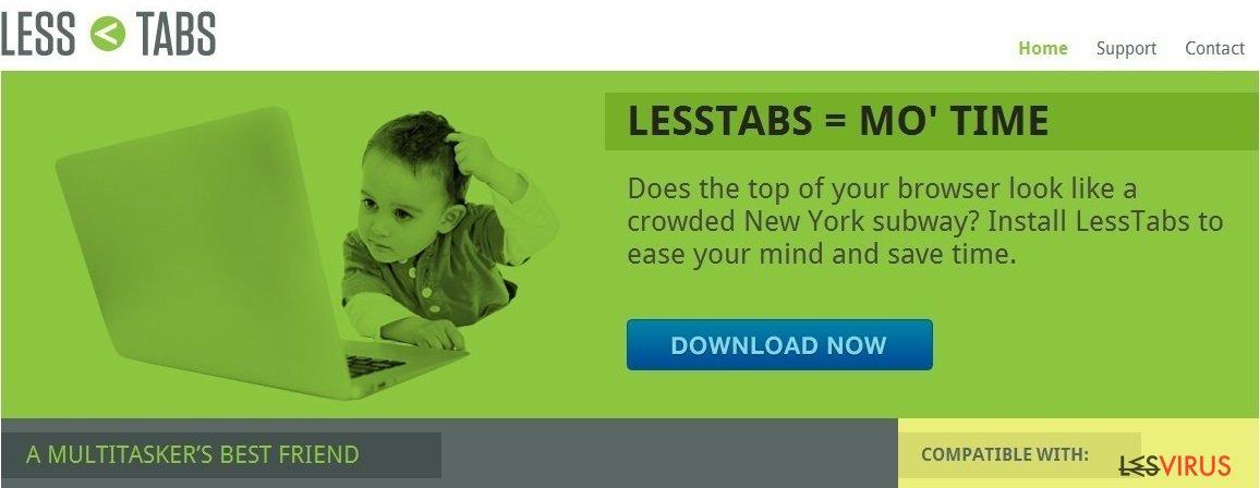 Less Tabs instantané