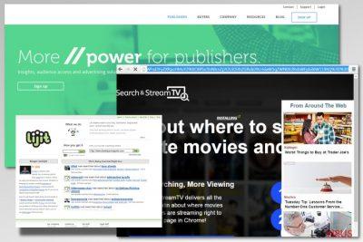 Un exemple de l'adware lijit.com