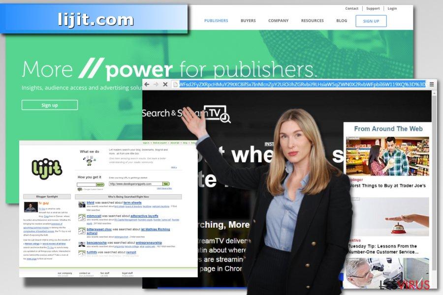 Image du virus lijit.com