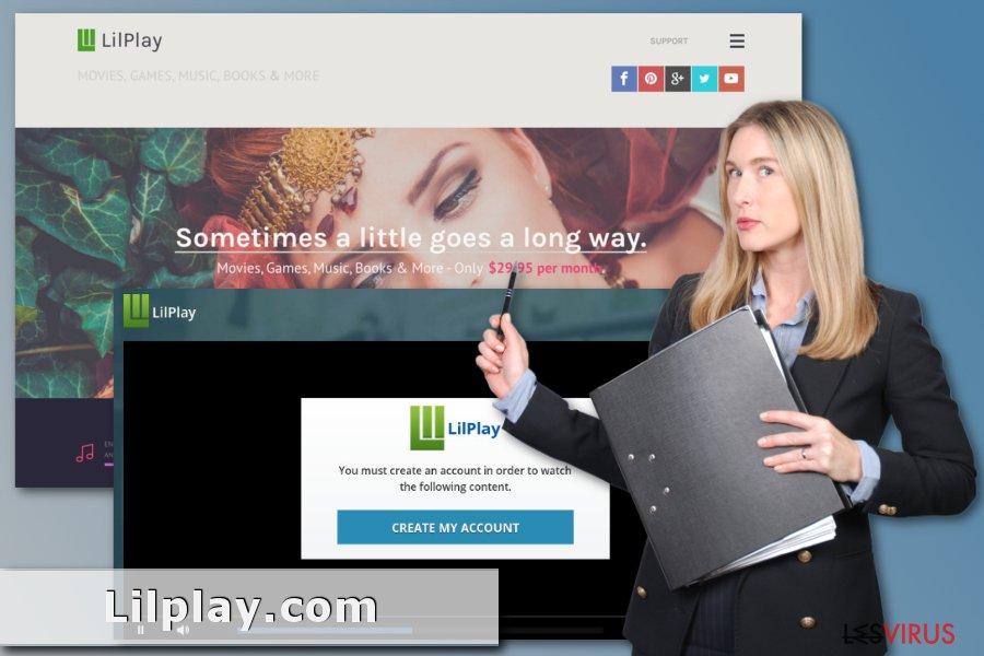 Image de la fraude Lilplay.com