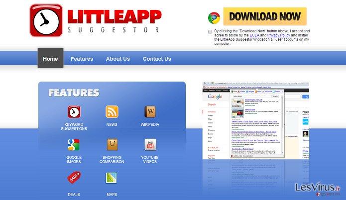 LittleApp Suggestor annonces instantané
