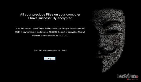 The ransom note of .Locked virus