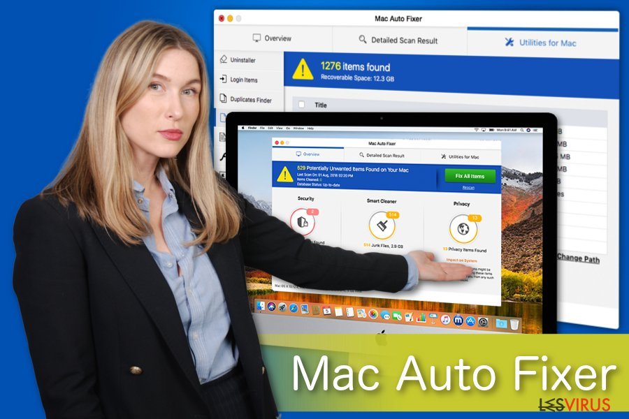 Illustration de Mac Auto Fixer
