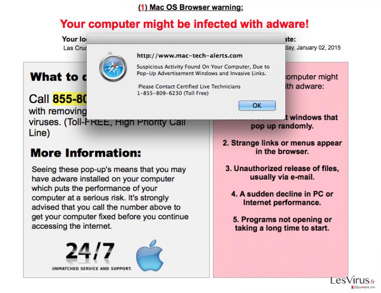 Mac-computer-alerts.com annonces instantané
