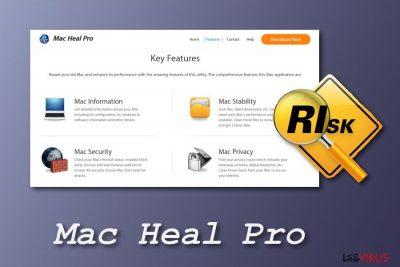l'outil système Mac Heal Pro