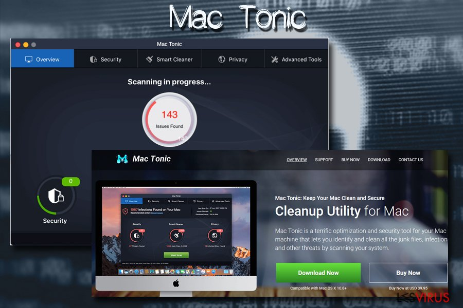 le virus Mac, Mac tonic