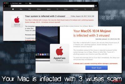 le virus Mac - Votre Mac est infecté par 3 virus