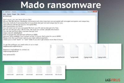 Le ransomware Mado