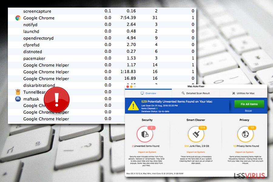 Maftask fait partie de Mac Auto Fixer