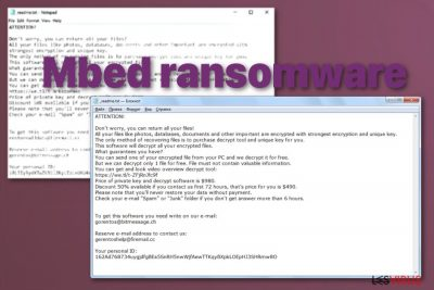 le ransomware Mbed