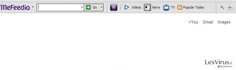 Mefeedia toolbar instantané