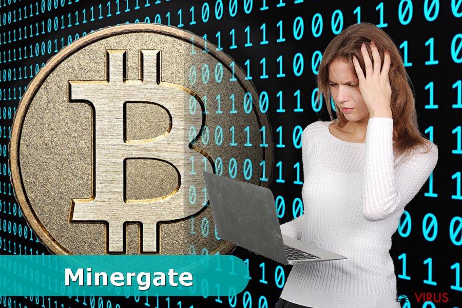 Un prototype du virus Minergate