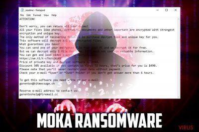 le ransomware Moka