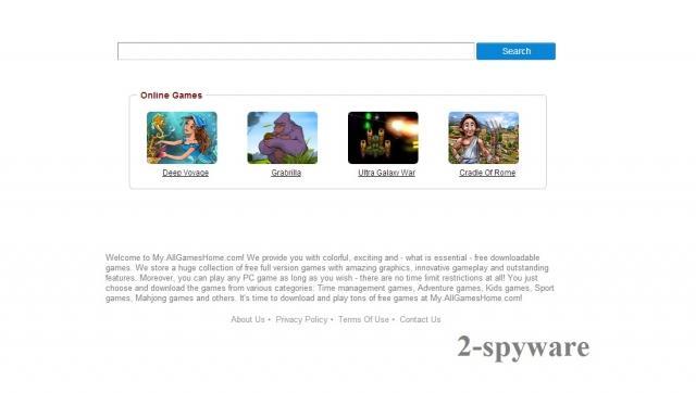my.allgameshome.com instantané