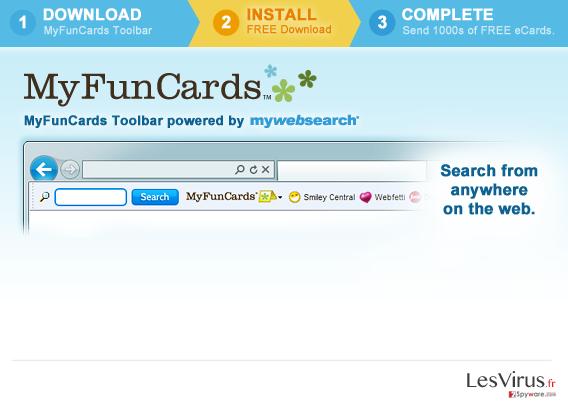 MyFunCards Toolbar instantané