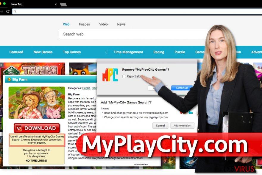 MyPlayCity.com redirect