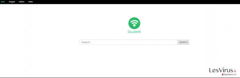 Mystart.dealwifi.com redirect instantané