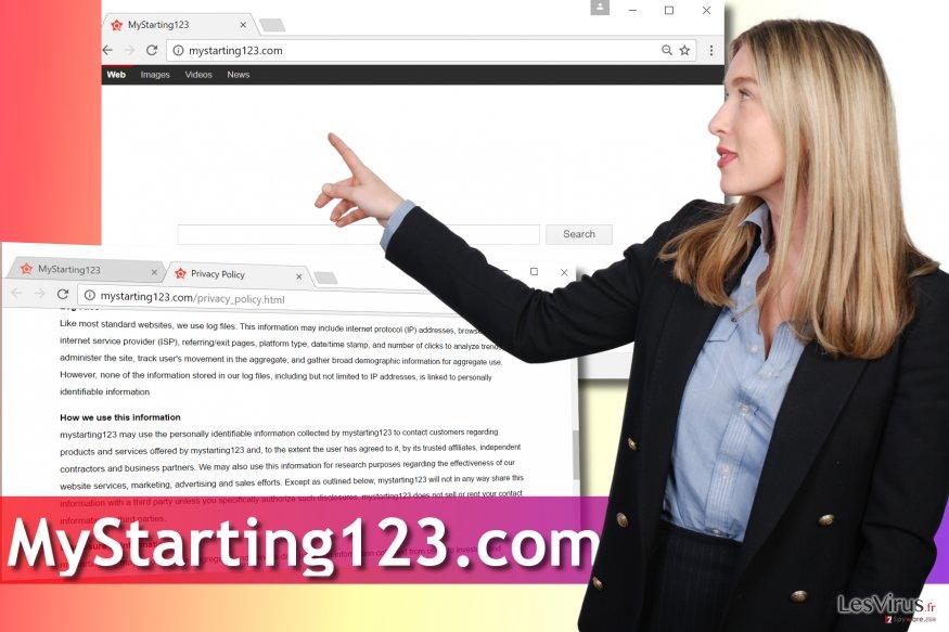 Le virus MyStarting123.com