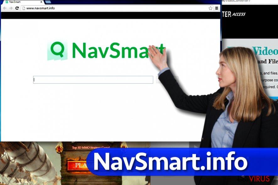 Le virus NavSmart.info instantané