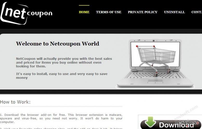 NetCoupon virus instantané