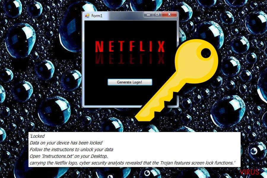 le ransomware Netflix