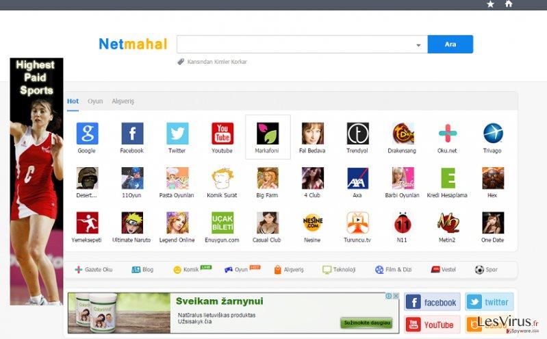 Netmahal.com redirect instantané