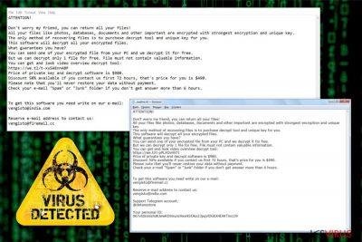 le ransomware Norvas