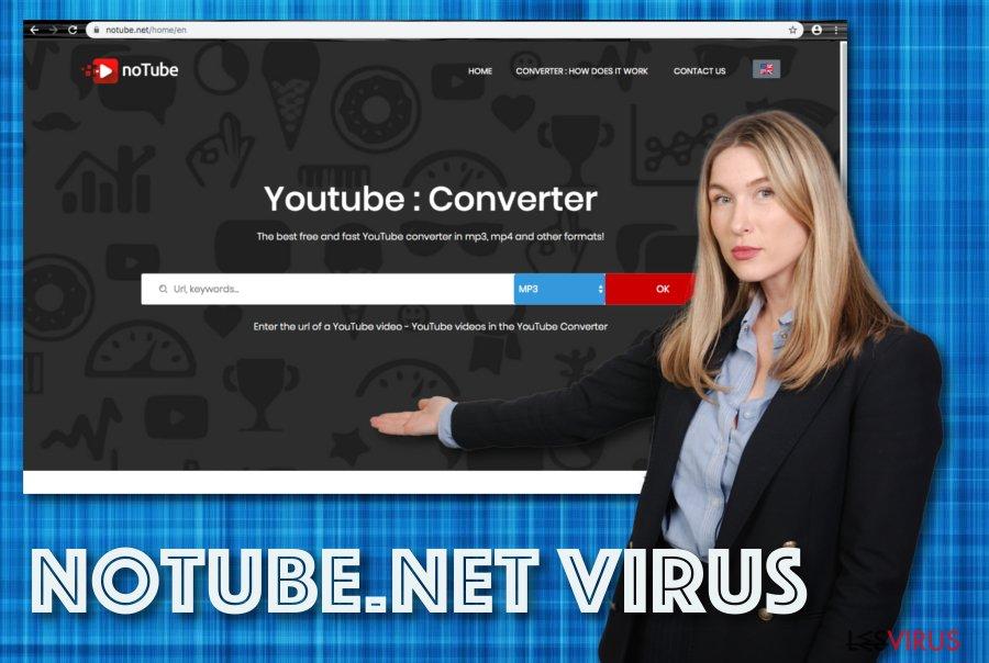 Le logiciel publicitaire Notube.net