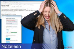 Le logiciel d'extorsion Nozelesn