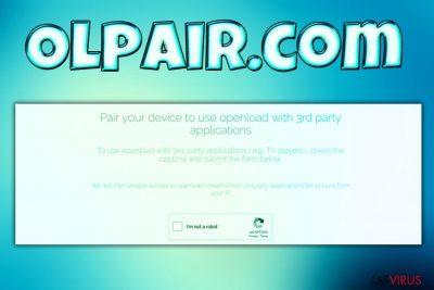 le virus Olpair.com